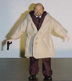 Full view shot of Dr. Loomis action figure