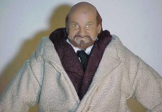 Close-up of Dr. Loomis action figure