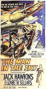 MAN IN THE SKY British poster artwork