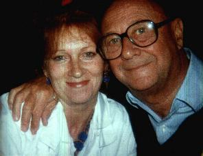 Donald Pleasence and his fourth wife, Linda